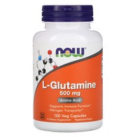 Now Foods L-Glutamine 500 mg - 120 Caps