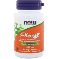 Now Foods - All-Natural Phase 2, Starch Neutralizer, 500 mg, 60 Veggie Caps