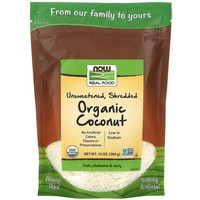 Now Foods organic - coconut shred, unsweet 10 oz