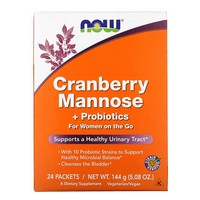 Now Foods - Cranberry Mannose + Probiotics, 24 Packets, (6 g) Each