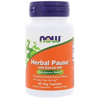 Now Foods - Herbal Pause With EstroG-100, 60 Veggie Caps