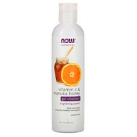 Now Foods Vit C & Manuka Honey Cleanser 8 oz