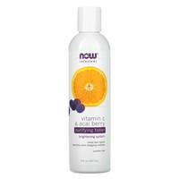 Now Foods Vit C & Acai Purifying Toner 8 oz