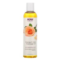 Now Foods - Solutions, Tranquil Rose Massage Oil, 8 fl oz (237 ml)