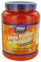 Now Foods WHEY HYDROLYSATE CREAMY CHOCOLATE 2 LBS.