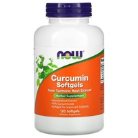 Now Foods CURCUMIN (TURMERIC ROOT EXTRACT) 120 SGELS
