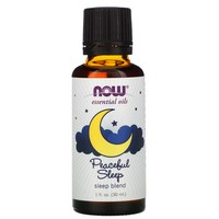 Now Foods - Essential Oils, Sleep Blend, Peaceful Sleep, 1 fl oz (30 ml)