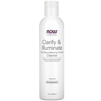 Now Foods Clarify & Illuminate Age Transformation Gel Cleanser 8 oz