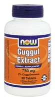 Now Foods - Guggul Extract, 750 mg, 90 Tablets