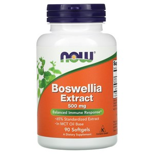 Now Foods - Boswellia Extract, 500 mg, 90 Softgels