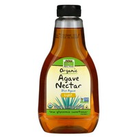 Now Foods ORGANIC LIGHT AGAVE NECTAR 23.28 OZ