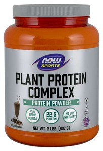 Now Foods PLANT PROTEIN COMPLEX- CHOCOLATE MOCHA FLAVOR 2 LBS