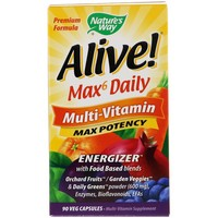 Nature's Way Alive! Max Potency  90 Vcaps