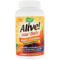 Nature's Way - Alive! Multi-Vitamin, 180 Tablets
