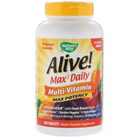 Nature's Way Alive!® Max Potency (no iron added) 180 Tb