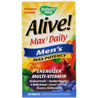 Nature's Way - Alive! Men's Multi, 90 Tablets