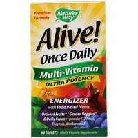 Nature's Way - Alive!, Once Daily, Multi-Vitamin, 60 Tablets