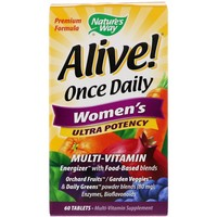Nature's Way - Alive! Once Daily Women's Multi-Vitamin , 60 Tablets