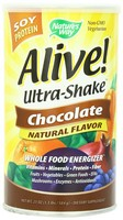 Nature's Way, Alive! Ultra-Shake, Soy Protein, Chocolate, 1.3 lbs (584 g)