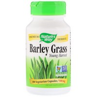 Nature's Way - Barley Grass, Young Harvest, 500 mg, 100 Capsules