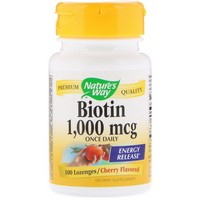Nature's Way Biotin Lozenge 100 Lz