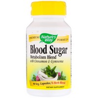 Nature's Way - Blood Sugar, With Gymnema, 436 mg, 90 Capsules