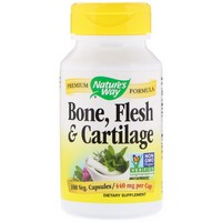 Nature's Way Bone, Flesh & Cartilage 100 Cp