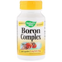 Nature's Way - Boron Chelate, 3 mg, 100 Capsules