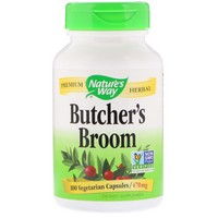 Nature's Way - Butcher's Broom, Root, 470 mg, 100 Capsules