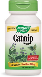Nature's Way - Catnip Herb, 380 mg, 100 Capsules