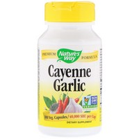 Nature's Way Cayenne–Garlic 100 Cp