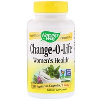 Nature's Way - Change-O-Life, 7 Herb Blend, 440 mg, 180 Capsules