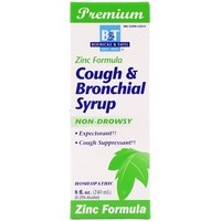 Boericke and  Tafel, Cough and  Bronchial Syrup, with Zinc, 8 fl oz