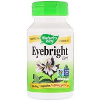 Nature's Way - Eyebright Herb, 430 mg, 100 Capsules