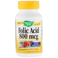 Nature's Way Folic Acid 100 Cp