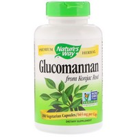 Nature's Way - Glucomannan, Konjac Root, 665 mg, 180 Vcaps