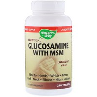 Nature's Way Glucosamine Sulfate–MSM 240 Tb