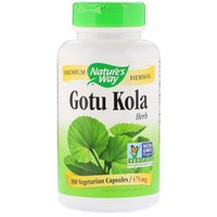 Nature's Way Gotu Kola Herb 180 Cp
