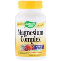 Nature's Way - Magnesium Complex, 100 Capsules