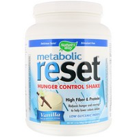 Nature's Way, Metabolic Reset, Hunger Control, Weight Loss Shake, Powder, Vanilla, 1.4 lbs (630 g)