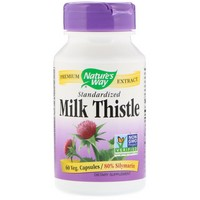 Nature's Way, Milk Thistle, Standardized, 60 Capsules