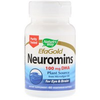 Nature's Way, EFAGold, Neuromins, 60 Veggie Softgels