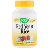 Nature's Way - Red Yeast Rice, 600 mg, 120 Vcaps