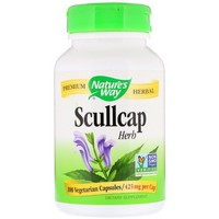 Nature's Way Scullcap Herb 100 Cp