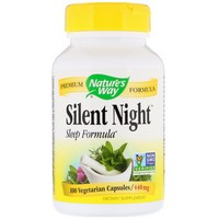 Nature's Way - Silent Night with Valerian, 440 mg, 100 Capsules