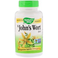 Nature's Way - St. John's Wort Herb, 350 mg, 180 Capsules