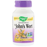 Nature's Way - St. John's Wort, Standardized, 90 Capsules