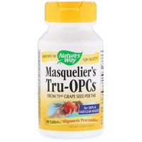 Nature's Way, Masquelier's Tru-OPCs, 75 mg, 90 Tablets