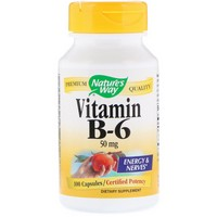 Nature's Way Vitamin B6 100 Cp