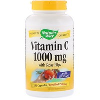 Nature's Way Vitamin C 1000–Rose Hips 250 Cp